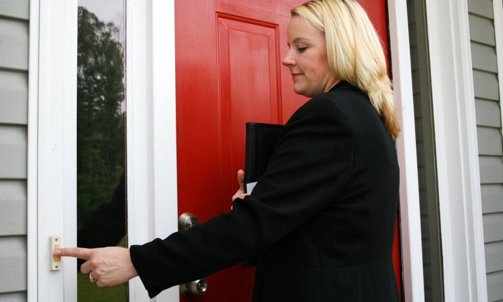 Example of Effective Door Knocking